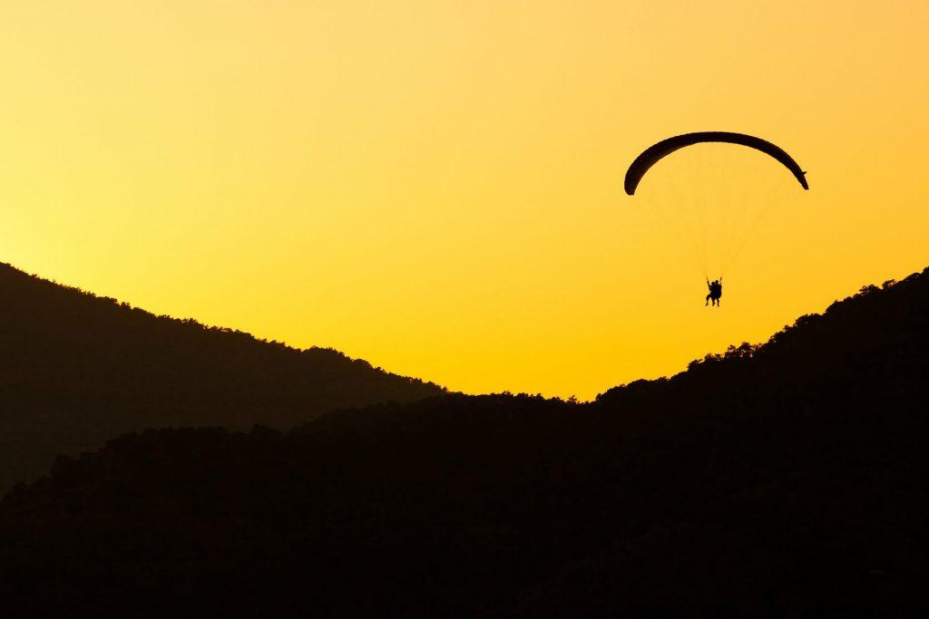 Paragliding, Pokhara Nepal